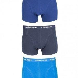 Björn Borg 3-Pack Basic NOOS Short Shorts Bokserit Sky Diver