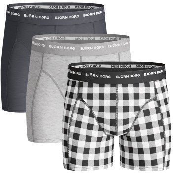 Björn Borg Boy Shorts Basic Check 3 pakkaus