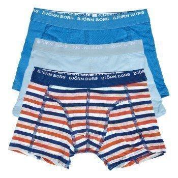 Björn Borg Boys Basic Stripe Shorts 3 pakkaus