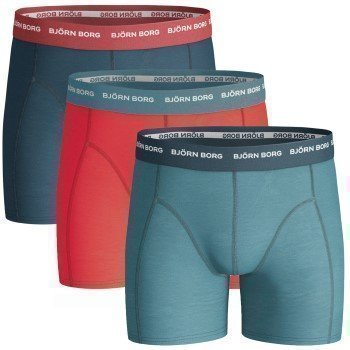 Björn Borg Boys Shorts Seasonal Solids Contrast  3 pakkaus