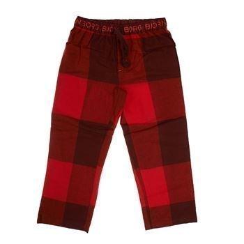 Björn Borg Kids Pyjamas Pant Zen Check Tawny