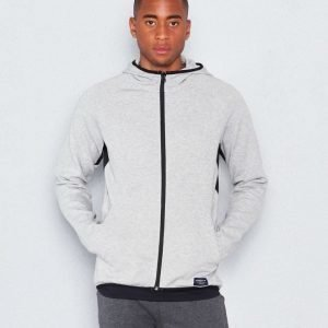 Björn Borg Lance Hood Jacket 90591 Light Grey Melange