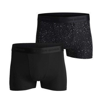 Björn Borg Lightweight Microfiber Shorts DustBlack 2 pakkaus