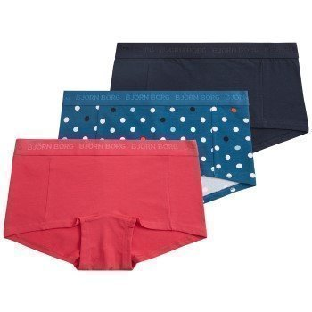 Björn Borg Mini Shorts Basic BB Contrast Dot 3 pakkaus