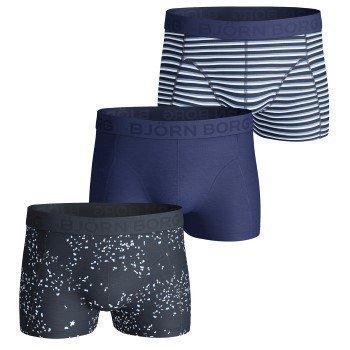 Björn Borg Petals Japanese Stripe Short Shorts 3 pakkaus