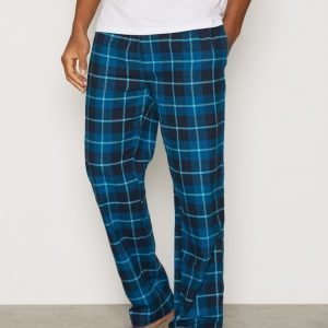 Björn Borg Pyjama Pants BB Check Pyjamahousut Total Eclipse