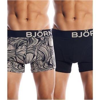 Björn Borg Sandstone Short Shorts Black 2 pakkaus