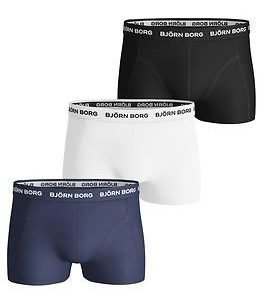 Björn Borg Short Shorts 3-pack Blue Depths