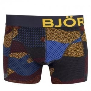Björn Borg Short Shorts BB Contrast Camo Bokserit Total Eclipse
