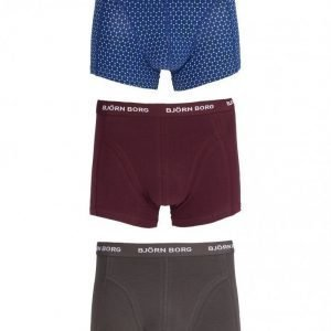 Björn Borg Short Shorts BB Dot 3-Pack Bokserit Sodalite Blue