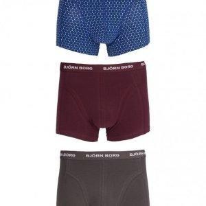 Björn Borg Short Shorts BB Dot 3-Pack Bokserit Sodalite Blue
