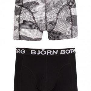 Björn Borg Short Shorts BB Japanese Camo 2-Pack Bokserit Black