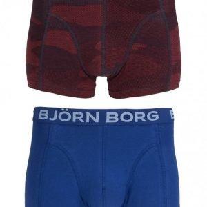 Björn Borg Short Shorts BB Japanese Camo 2-Pack Bokserit Total Eclipse