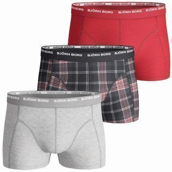 Björn Borg Short Shorts Basic Check Gift Box 3 pakkaus