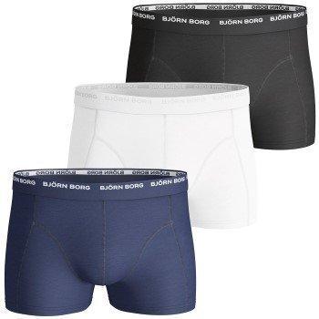 Björn Borg Short Shorts Basic Solid 3 pakkaus