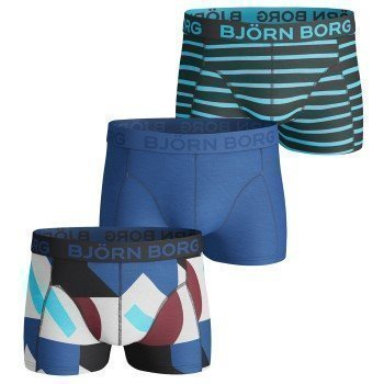 Björn Borg Short Shorts Colour Field and Stripe 3 pakkaus