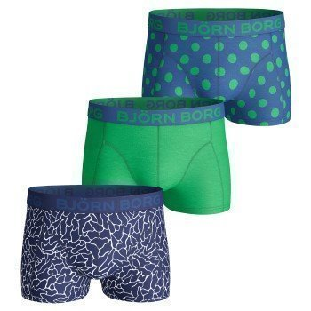 Björn Borg Short Shorts Surface and Polka Dot 3 pakkaus