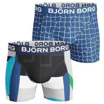 Björn Borg Shorts Colour Block and Pool Check 2 pakkaus