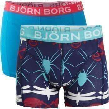 Björn Borg Shorts for Boys Skull Chain + Solid 2 pakkaus