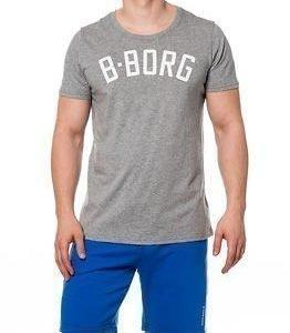 Björn Borg Skip Tee Wild Dove Grey Melange