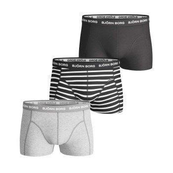 Björn Borg Stripe Basic Short Shorts 3 pakkaus