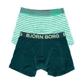 Björn Borg Summer Stripe Shorts Bright Green 2 pakkaus
