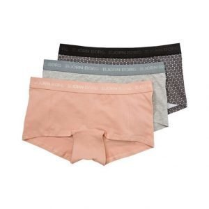 Bjorn Borg Dot Mini Shorts Hipsterit 3-Pack