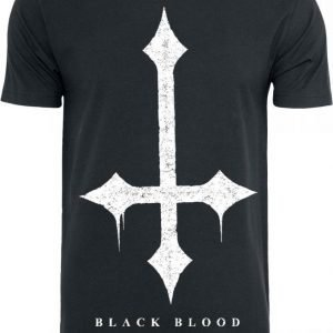 Black Blood Cross T-paita