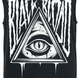 Black Blood Evil Eye Tank Toppi