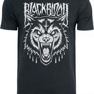 Black Blood Grim Wolf T-paita