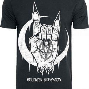 Black Blood Hell Yeah T-paita