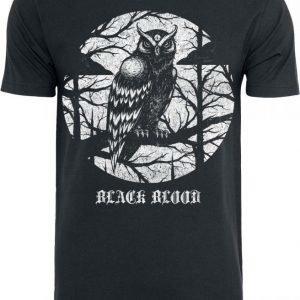 Black Blood Nightwatcher T-paita