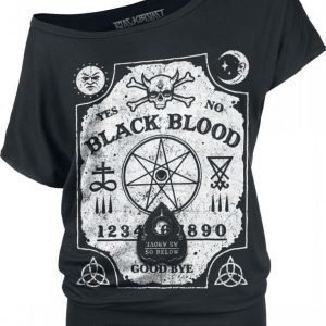 Black Blood Witchboard Naisten T-paita