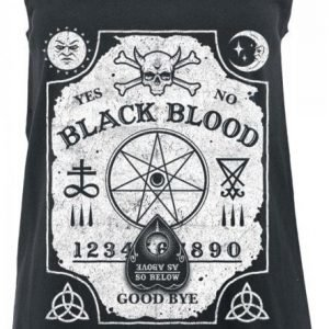 Black Blood Witchboard Naisten Toppi