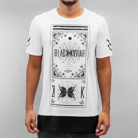 Black Kaviar T-paita Valkoinen