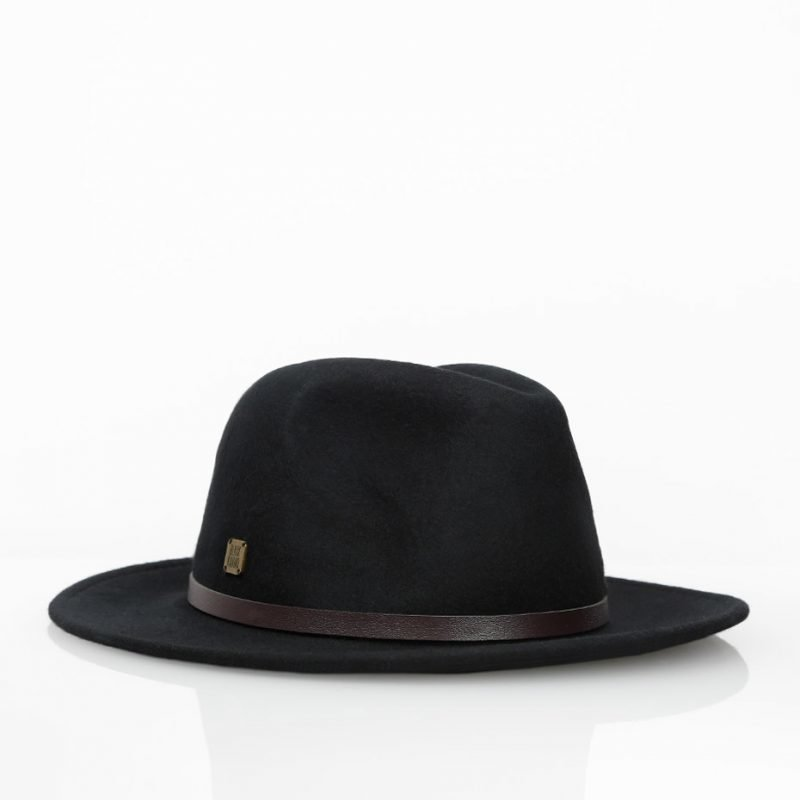 Black Kaviar Wool -hattu