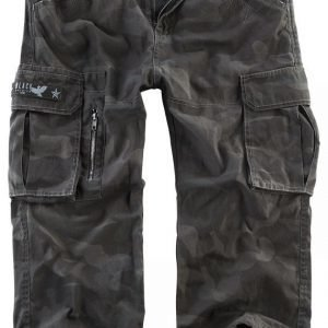 Black Premium By Emp 3/4 Army Vintage Shorts Shortsit