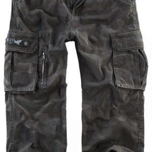 Black Premium By Emp 3/4 Army Vintage Shorts Shortsit