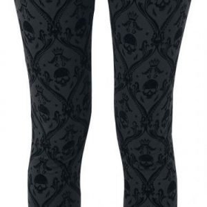 Black Premium By Emp Allover Skull Legginsit
