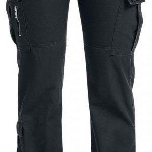 Black Premium By Emp Army Vintage Trousers Naisten Reisitaskuhousut