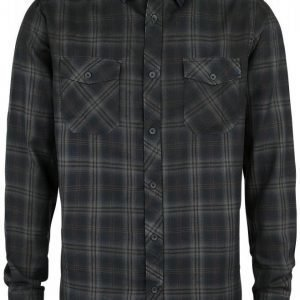 Black Premium By Emp Basic Checkshirt Kauluspaita