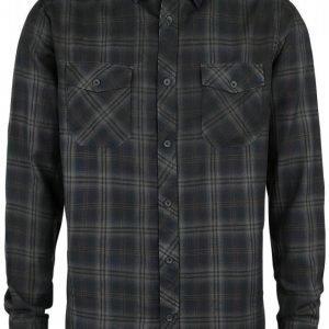 Black Premium By Emp Basic Checkshirt Kauluspaita