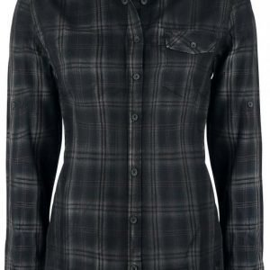 Black Premium By Emp Basic Checkshirt Naisten Pusero