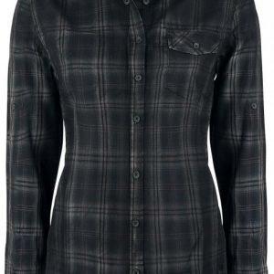 Black Premium By Emp Basic Checkshirt Naisten Pusero