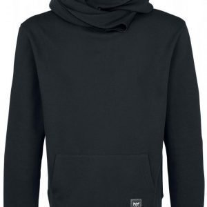 Black Premium By Emp Basic Shawl Collar Hoodie Huppari