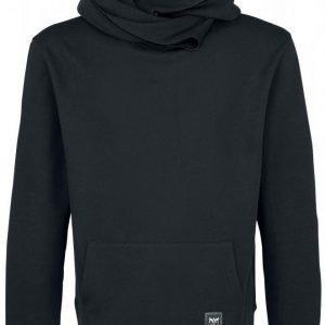 Black Premium By Emp Basic Shawl Collar Hoodie Huppari