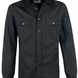 Black Premium By Emp Basic Shirt Kauluspaita