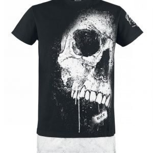 Black Premium By Emp Big Skull Shirt T-paita