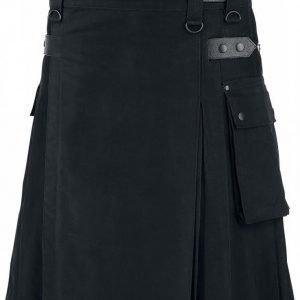 Black Premium By Emp Black Kilt Kiltti