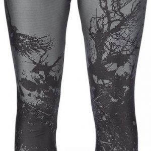 Black Premium By Emp Bough Skull Leggings Legginsit